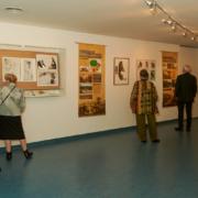 Blick in die Ausstellung 2017