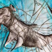 Ausstellung 2019: Hammerhai, Mirjam Meier